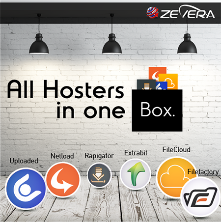 One Premium Account for 70 file-hosts & Unlimited Premium Downloads